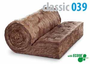 Izolácia KNAUF CLASSIC 039 60mm (viacúčelový izolačný materiál)