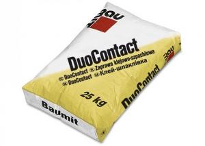 BAUMIT DuoContact Univerzálna lepiaca malta na báze cementu