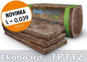 Izolácia Ekoboard TP 112 100mm - viacúčelový izolačný materiál