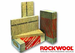 Izolácia FASROCK 50mm - vonkajšia tepelná izolácia