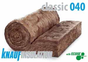 Izolácia KNAUF CLASSIC 040 100mm (viacúčelový izolačný materiál)