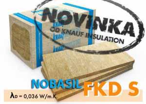 Izolácia NOBASIL FKD-S 150mm (vonkajšia tepelná izolácia)